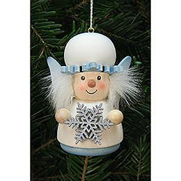 Tree Ornament - Teeter Figurine Snowflake - 7,7 cm / 3 inch