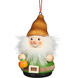 Tree Ornament Teeter Man Dwarf with Apple - 8 cm / 3.1 inch