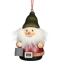 Tree Ornament Teeter Man Dwarf with Bucket - 8 cm / 3.1 inch