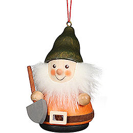 Tree Ornament Teeter Man Dwarf with Shovel - 8 cm / 3.1 inch