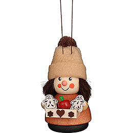 Tree Ornament - Teeter Man Gingerbread Seller Natural - 8,5 cm / 3.3 inch