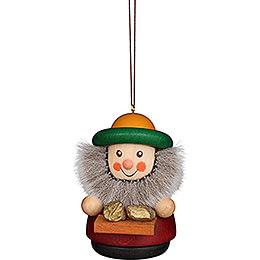 Tree Ornament - Teeter Man Kaspar - 7 cm / 2.8 inch
