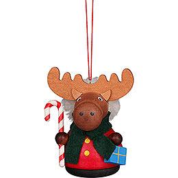 Tree Ornament - Teeter Man Moose - 7,5 cm / 3 inch