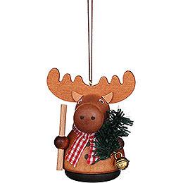Tree Ornament - Teeter Man Moose Natural - 7,5 cm / 3 inch