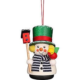 Tree Ornament - Teeter Snowman - 8,5 cm / 3.3 inch