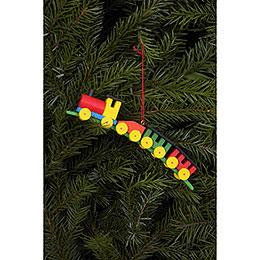 Tree Ornament - Train - 13,0x2,6 cm / 5x1 inch