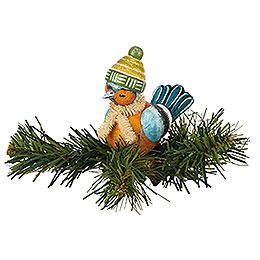 Tree Ornament - Tree Clip Chaffinch - 6,5 cm / 2,5 inch
