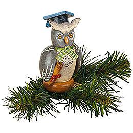 Tree Ornament - Tree Clip Owl - 8,5 cm / 3,3 inch