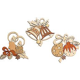 Tree Ornament - Tree Decoration - Set of 6 - 7 cm / 2.8 inch