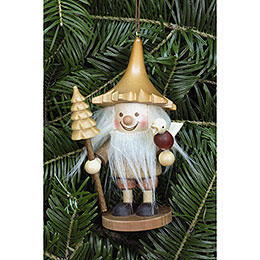 Tree Ornament - Tree Gnome Natural - 12 cm / 5 inch