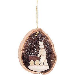Tree Ornament - Walnut Shell