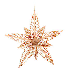 Tree Ornament - Wood Chip Star - 37 cm / 14.6 inch