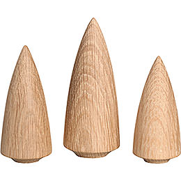 Tree Set - 3 Pieces - 9 cm / 3.5 inch
