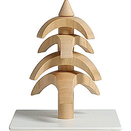 Twist Tree - Cherry Wood - 8 cm / 3.1 inch
