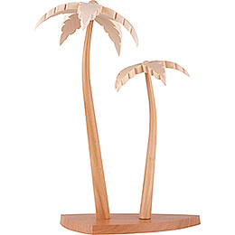 Two Palm Trees - 23 cm / 9.1 inch