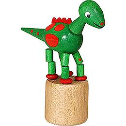 Wackeltier Dinosaurier grün - 8,5 cm