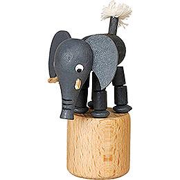 Wackeltier Elefant - 7 cm