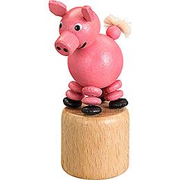 Wackeltier Schwein - 8 cm
