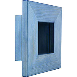 Wandrahmen blau - 23x23x8 cm