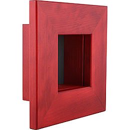 Wandrahmen rot - 23x23x8 cm