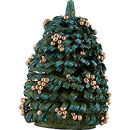 Weihnachtsbaum mit goldenen Kugeln - 6 cm