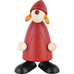 Weihnachtsfrau stehend - 9 cm