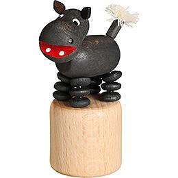 Wiggle Figure - Hippo - 7 cm / 2.8 inch