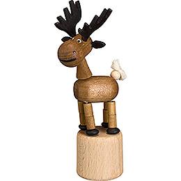 Wiggle Figure - Moose - 10 cm / 3.9 inch