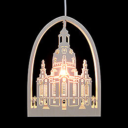 Window Picture - Church of Our Lady, Dresden - 21,5x29,5 cm / 2 inch