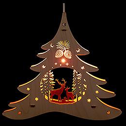 Window Picture - Fir Tree