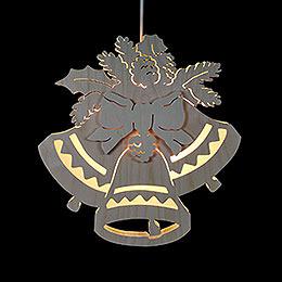 Window Picture - Three Bells - Dia: 30,5 cm / 12 inch