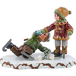 Winter Children Boy Skating - 7 cm / 3 inch