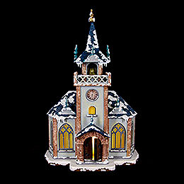 Winter Children Church - 31 cm / 12 inch
