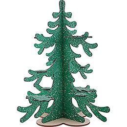 Winterbaum für Räuchereulen und Mini-Eulen - 42 cm