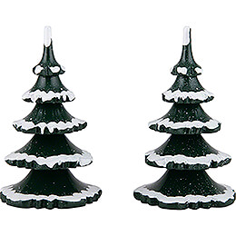 Winterkinder 2er-Set Baum - groß - 11 cm