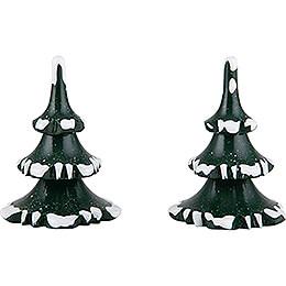 Winterkinder 2er-Set Baum - klein - 6 cm