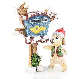 Winterkinder 3er Set Zeitungsbote - 6 cm