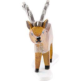 Winterkinder 4er Set Hirsch - 6 cm