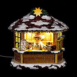 Winterkinder Weihnachtspostamt - 10 cm