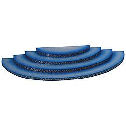 Wolke - 4-stufig - blau - 43x20x4 cm