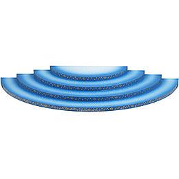 Wolke 4-stufig blau-weiß - 43 cm