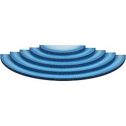 Wolke 5-stufig blau-weiß - 51 cm
