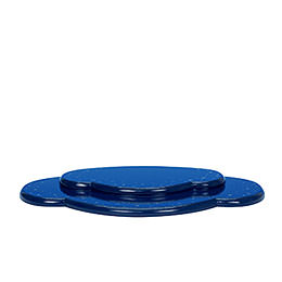 Wolke blau 2tlg. - B 28,5 cm