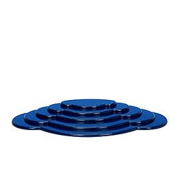 Wolke blau 5tlg. - B 52,5 cm
