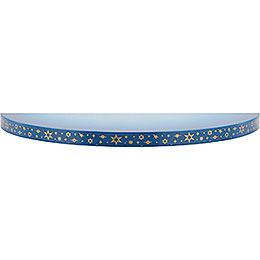 Wolke blau-weiß - 19 cm