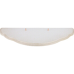 Wolkenstecksystem - Unterbauetage 3 - weiß/gold - 41x21 cm