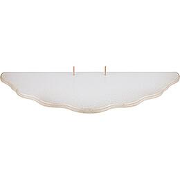 Wolkenstecksystem - Unterbauetage 5 - weiß/gold - 70x30 cm