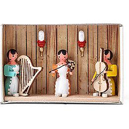 Zündholzschachtel Hausmusik - 4 cm