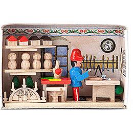Zündholzschachtel Spielzeugmacher - 4 cm