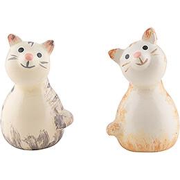 Zwei Kätzchen - 1,7 cm